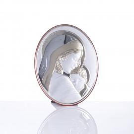 Icoana argintata, 21x25 cm
