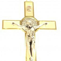 Cruce benedictina metal 20cm