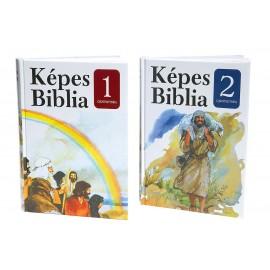 Képes Biblia, kétkötetes