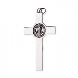 Cruce benedictina metal 7.2cm