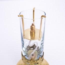 Lampa vesnica cu ulei de parafina 20.5cm