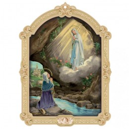 Icoana-Fecioara de la Lourdes