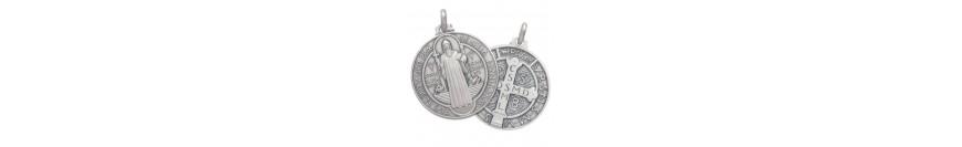 Medaliuţe argintate