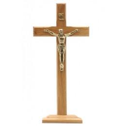Cruce din lemn cu talpa 18 cm