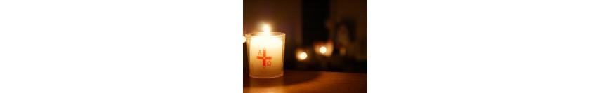 Lumânări şi candele pascale