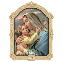 Icoana-Fecioara Maria cu pruncul Isus