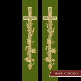 Stola brodata cu semnul crucii