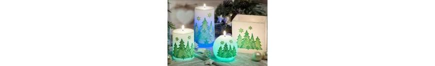 Lumânări şi candele de crăciun