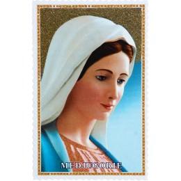 Imádságos kép Medjugorjei Szűzanya