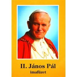 Szent II. János Pál imafüzet