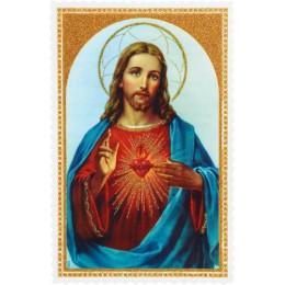Imádságos kép Jézus Szíve