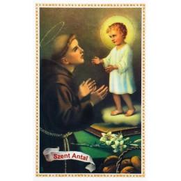 Imádságos kép Szent Antal