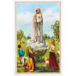Imádságos kép Fatimai Mária