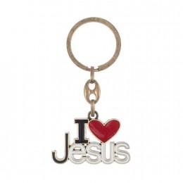 Breloc I love Jesus