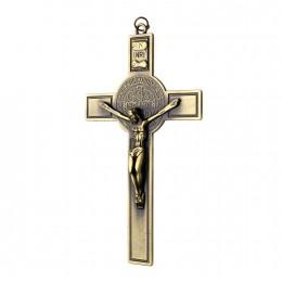 Cruce benedictina metal 12.3cm