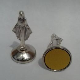Magnet si autoadeziv cu Fecioara Maria