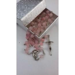 Rozar cuart roz, 6 mm