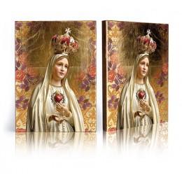 Icoana-Sfanta Fecioara de la Fatima