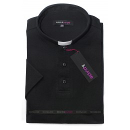 Tricou clerical negru